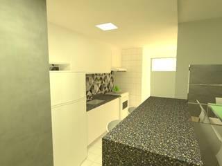 Projeto M|D Cozinhas minimalistas por Office Duo Arquitetura e Interiores Minimalista