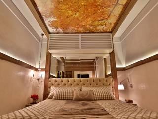 ラスティックスタイルの 寝室 の MAJÓ Arquitetura de Interiores ラスティック