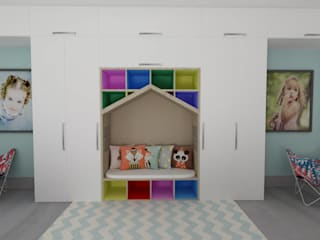 MC Modern Kid's Room by TAMEN arquitectura Modern