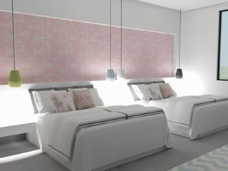 MC Modern Bedroom by TAMEN arquitectura Modern