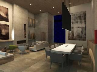 MC Modern Dining Room by TAMEN arquitectura Modern