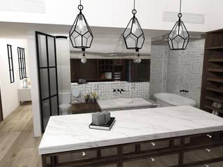 A Modern Bathroom by TAMEN arquitectura Modern