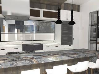 A Modern Kitchen by TAMEN arquitectura Modern