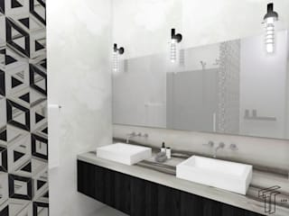 Bathroom by TAMEN arquitectura