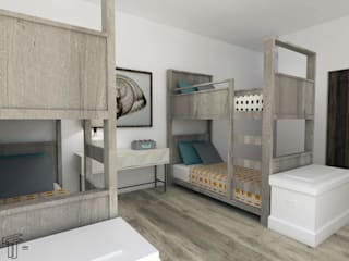 Dormitorios infantiles modernos de TAMEN arquitectura Moderno