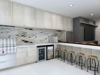 Modern kitchen by TAMEN arquitectura Modern