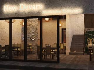 Restaurant Interior Design:  Hotels by DLEA