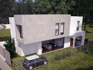 Modelo California Casas de estilo moderno de The Concrete Home Moderno