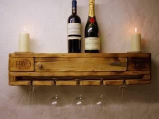Weinboard aus Paletten:   von wohnausstatter