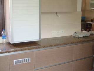elegant kitchens & Interiors Kitchen Chipboard Beige
