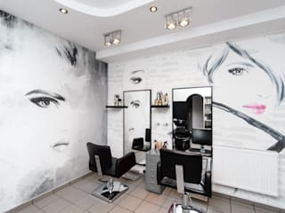 Before & After - personalization of the Hair Fashion Studio Pixers