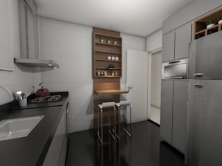 Modern Kitchen by Nayla Diniz Arquitetura Modern