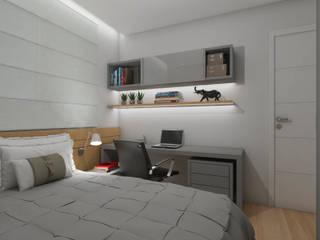 Nayla Diniz Arquitetura Modern nursery/kids room
