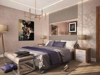 Modern Bedroom - Turkey 2015:  Bedroom by Ammar Bako design studio