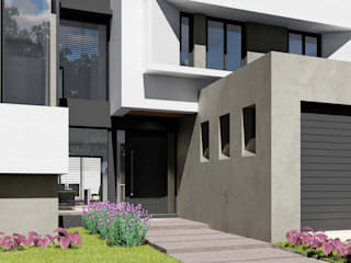Houses by ARBOL Arquitectos , Modern