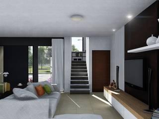 Living room by ARBOL Arquitectos , Modern