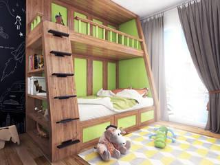 Boy's bedroom - Istanbul - Turkey 2015: modern Nursery/kid's room by Ammar Bako design studio