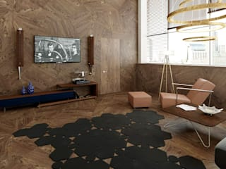 OFFICE IBA GROUP MINSK: Офисные помещения в . Автор – PROTOTIPI architects