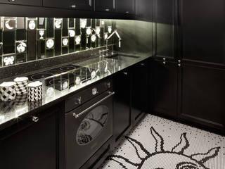 Kuchnia Paris Saint Honore: styl , w kategorii Kuchnia zaprojektowany przez we do design.pl