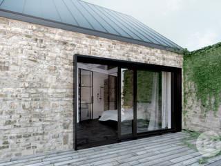 Projekt domu - rewitalizacja istniejącego domu z kamienia.: styl , w kategorii Domy zaprojektowany przez 365 Stopni