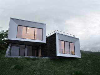 Дом выходного дня Дома в стиле минимализм от премиум интериум Минимализм