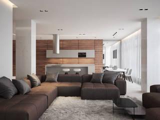 Minimalist living room by премиум интериум Minimalist