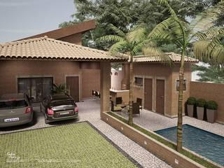 Residencial Bauru/SP:   por Santos e Delgado Arquitetura e Construções