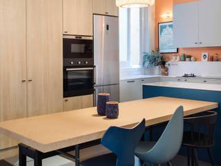Cocina en zona Chamberi, Madrid: Cocinas de estilo  de nimú equipo de diseño