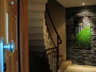 I.KORDON DAİRE Modern Koridor, Hol & Merdivenler Tasarımca Desıgn Offıce Modern