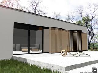 Dom letniskowy pod Poznaniem: styl , w kategorii Domy zaprojektowany przez WUTOTU architektura