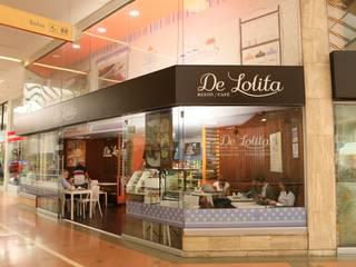 De Lolita - Unicentro: Espacios comerciales de estilo  por @tresarquitectos