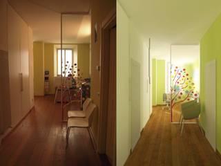 Corridor & hallway by Simone Cipollini Architetto,
