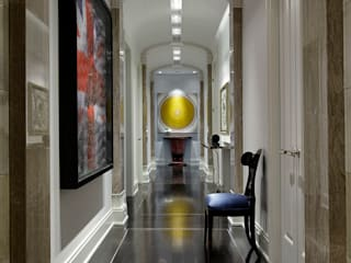 Douglas Design Studio Classic style corridor, hallway and stairs