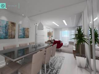 Modern dining room by SAVI Arquitetura Modern