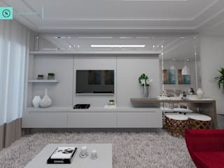 Modern living room by SAVI Arquitetura Modern