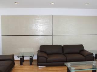 Living room by ESTUDIO 5 DISEÑO Y DECORACIÓN, Modern