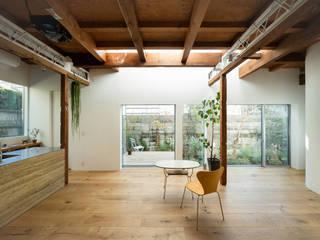 ห้องทานข้าว โดย ディンプル建築設計事務所, โมเดิร์น