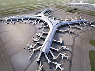 Aedas wins two international competitions to design airport buildings:  Airports by Aedas