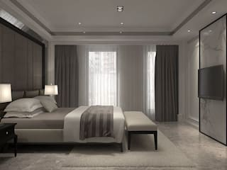 Classic style bedroom by 成綺空間設計 Classic