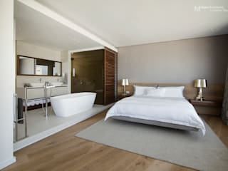 Clifton Apartment Minimalist bedroom by Make Architects + Interior Studio Minimalist
