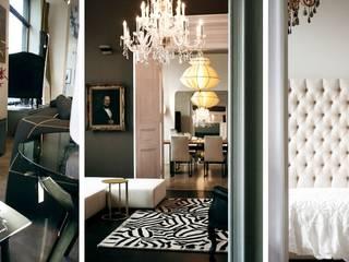 ห้องนอน โดย Art und Ambiente, Bernhardt GmbH, ผสมผสาน