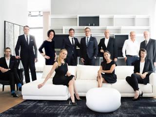 ห้องนั่งเล่น โดย Art und Ambiente, Bernhardt GmbH, มินิมัล
