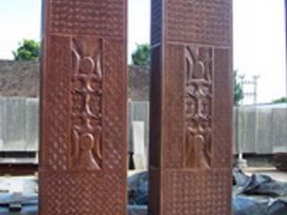 puerta étnica :  de estilo  de Ale debali study