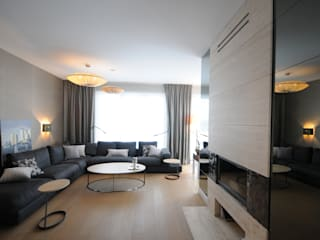 Apartament Penthouse Przed i Po od we do design.pl