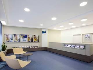 Niederöstereichische Versicherung destilat Design Studio GmbH Moderne Geschäftsräume & Stores