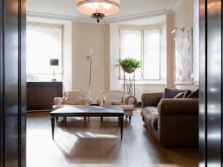 Salones de estilo moderno de innen_architekten BALS + WIRTH