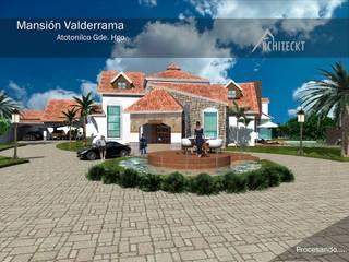 Diseño Arquitectónico y Construcción: Casas de estilo  por ARCHITECKT