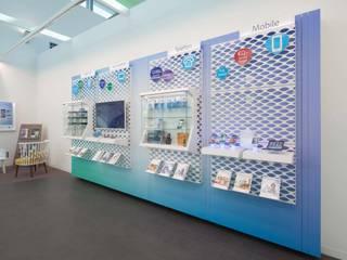 UPC Shops destilat Design Studio GmbH Moderne Geschäftsräume & Stores