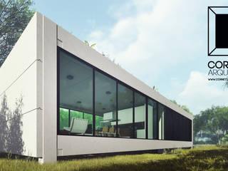 LOFT 001 Casas minimalistas por Cornetta Arquitetura Minimalista