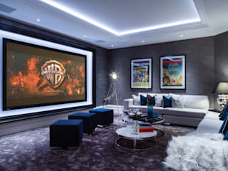Basement Cinema Room by CTS Systems